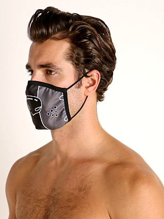 Cell Block 13 Puppy Nose Face Mask Grey