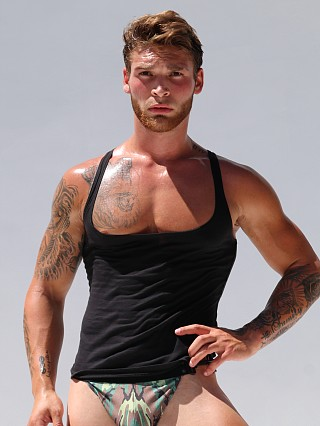 Complete the look: Rufskin Davis Stretch Cotton Tank Top Black