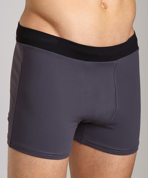 Sauvage Active Banded Contour Short Slate