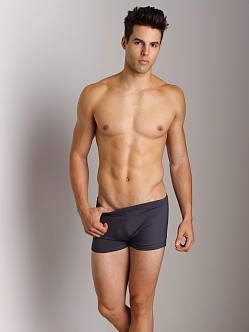 Sauvage Active Yoga Trunk Solid Charcoal