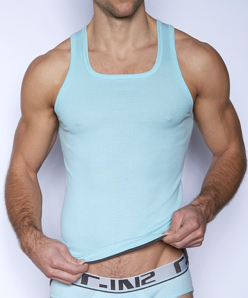C-IN2 Pop Colors Square Neck Tank Top Skydive