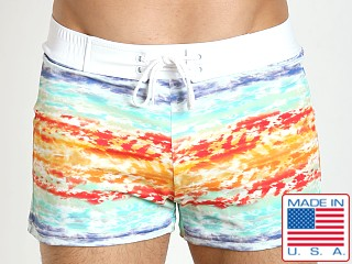 Sauvage European Nylon Lycra Boardshort South Seas