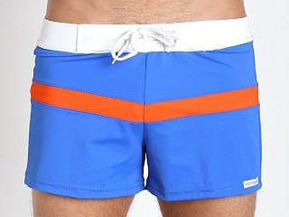 You may also like: Sauvage Sporty Style Swim Trunks Royal/Orange