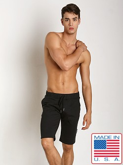 Sauvage Active Hemp Fleece Casual Short Black