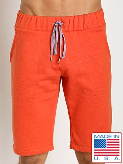 Sauvage Active Hemp Fleece Casual Short Orange