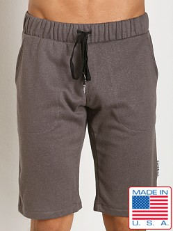 Sauvage Active Hemp Fleece Casual Short Charcoal