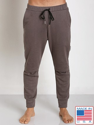 Sauvage Active Hemp Fleece Split Knee Pant Charcoal