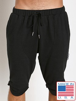 Sauvage Active Hemp Fleece Jogger Short Black