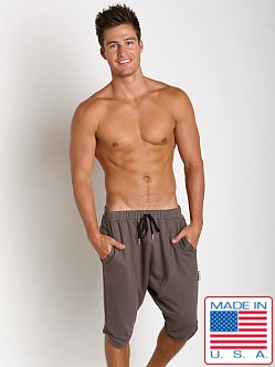 Sauvage Active Hemp Fleece Jogger Short Charcoal