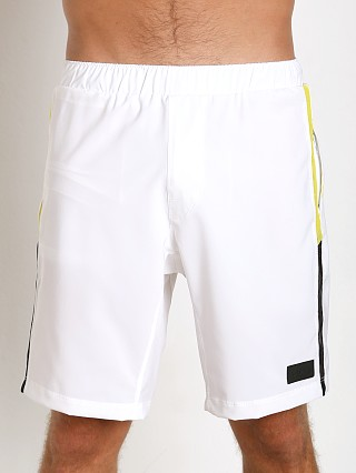 Complete the look: Sauvage Active Microfiber Mesh Detail Casual Short White