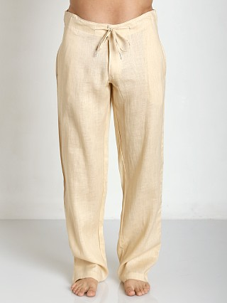 You may also like: Sauvage 100% Laundered Roma Linen Tropical Pant Natural