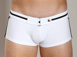 Tulio Metal Link Trunk White