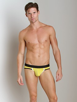 Tulio Power Pouch Color Block Slinky Brief Yellow