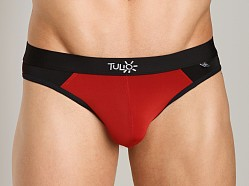 Tulio Enhancer Color Block Slinky Brief Red