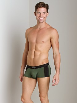 Tulio Enhancer Color Block Slinky Trunk Olive
