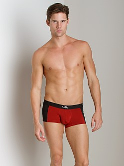 Tulio Enhancer Color Block Slinky Trunk Red