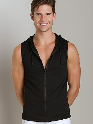 Complete the look: Tulio Ultra Light Zipper Muscle Hoodie Black