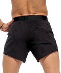 Rufskin Vast Ultra Suede Sport Shorts Black, view 4
