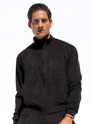 Complete the look: Rufskin Survet Ultra Suede Track Jacket Black