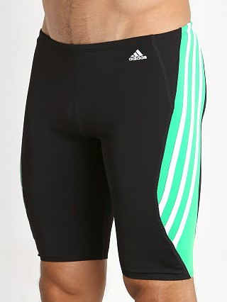 Adidas Solid Splice Infinitex Plus Swim Jammer Green