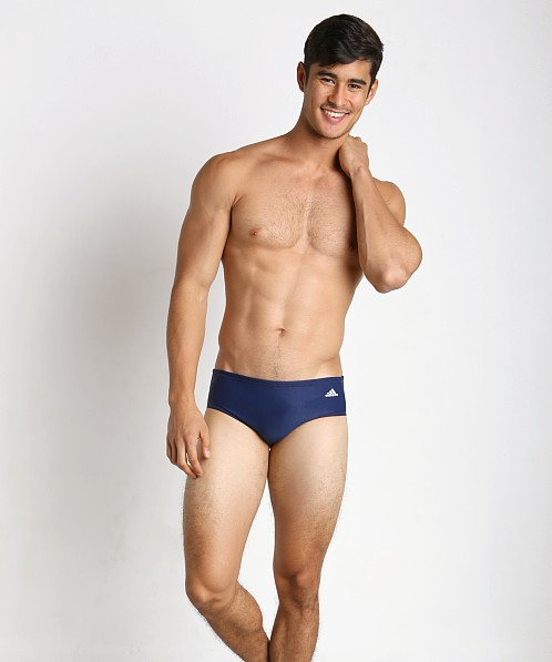 9a61c56062797 Adidas Infinitex Plus Waterpolo Swim Brief Navy AMX86WB at International  Jock