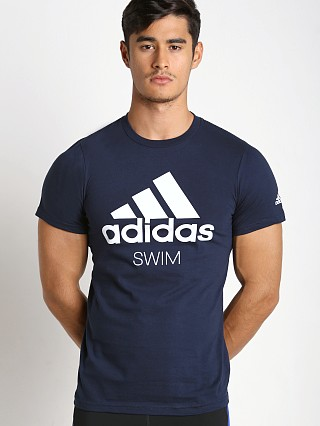 Adidas Swim Team T-Shirt Navy