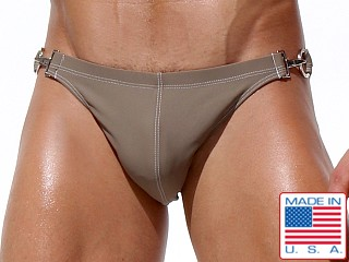 Rufskin Aldo Metal Hook Swim Brief Nude