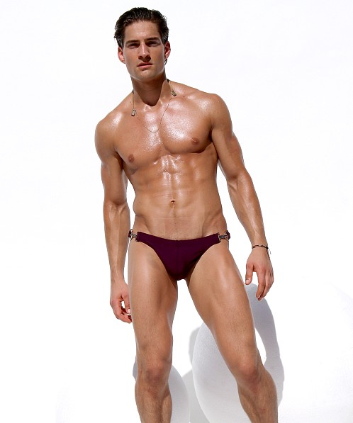 Rufskin Aldo Metal Hook Swim Brief