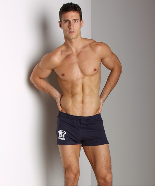 Andrew Christian Navy Blue P.E. Shorts
