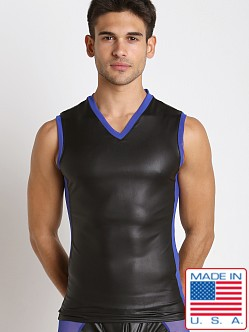 Go Softwear Hardcore Maverick V-Neck Sleeveless Tee Black/Royal