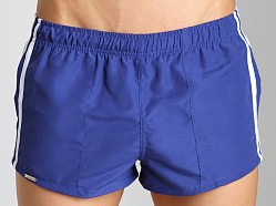Tulio Nylon Panel Short Royal