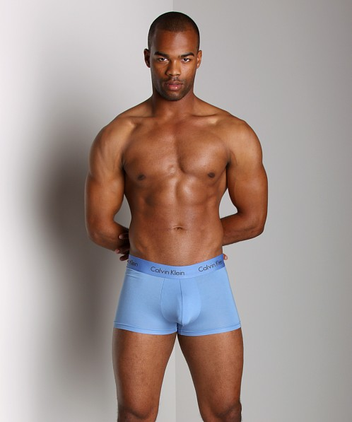 Calvin Klein Micro Modal Trunk Steam Blue