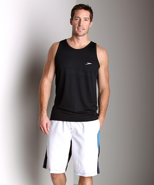 Speedo Loose Fit Swim Tank Black