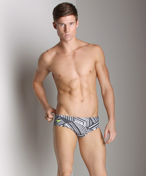 Speedo Splitsville Polo Brief Black/White