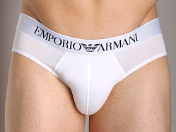Emporio Armani Stretch Cotton Brief White