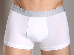 Emporio Armani Soft Stretch Boxer Brief White
