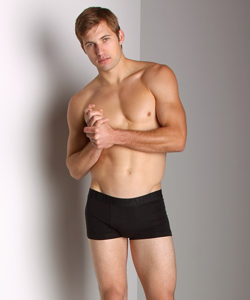 Emporio Armani Soft Stretch Boxer Brief Black