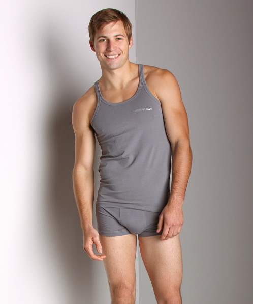 Emporio Armani Soft Stretch Tank Top Grey