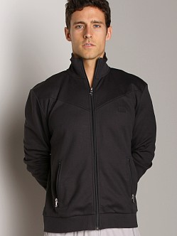 Hugo Boss Zipper Collar Jacket Dark Blue