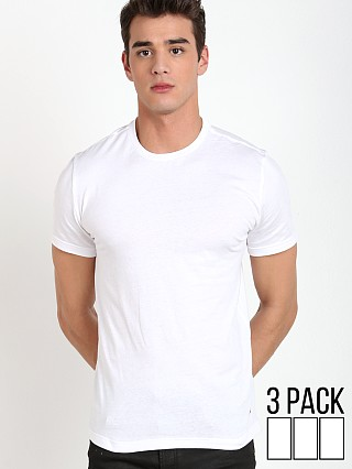 Tommy Hilfiger Cotton Classics Tee Shirt 3-Pack White