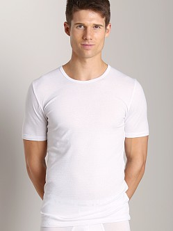 C-IN2 Baseflex Crew Neck Shirt 2-Pack White