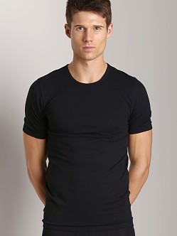 C-IN2 Baseflex Crew Neck Shirt 2-Pack Black