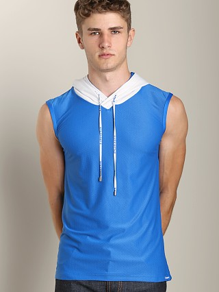 Complete the look: Pump Beach Hooded Mesh Tank Electric Blue