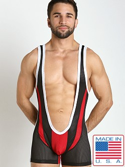 Pistol Pete Super Singlet Black
