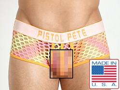 Pistol Pete Glitter Mesh Trunk Orange