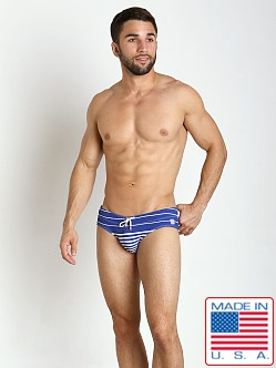 Pistol Pete Frequency Swim Brief Royal