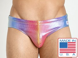 Pistol Pete Pride Swim Brief Multi
