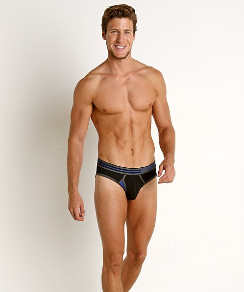 Emporio Armani Athletics Brief Black