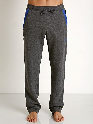 Emporio Armani French Terry Pants Black Melange Grey