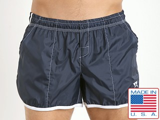 LASC Euro Trunk Navy/White